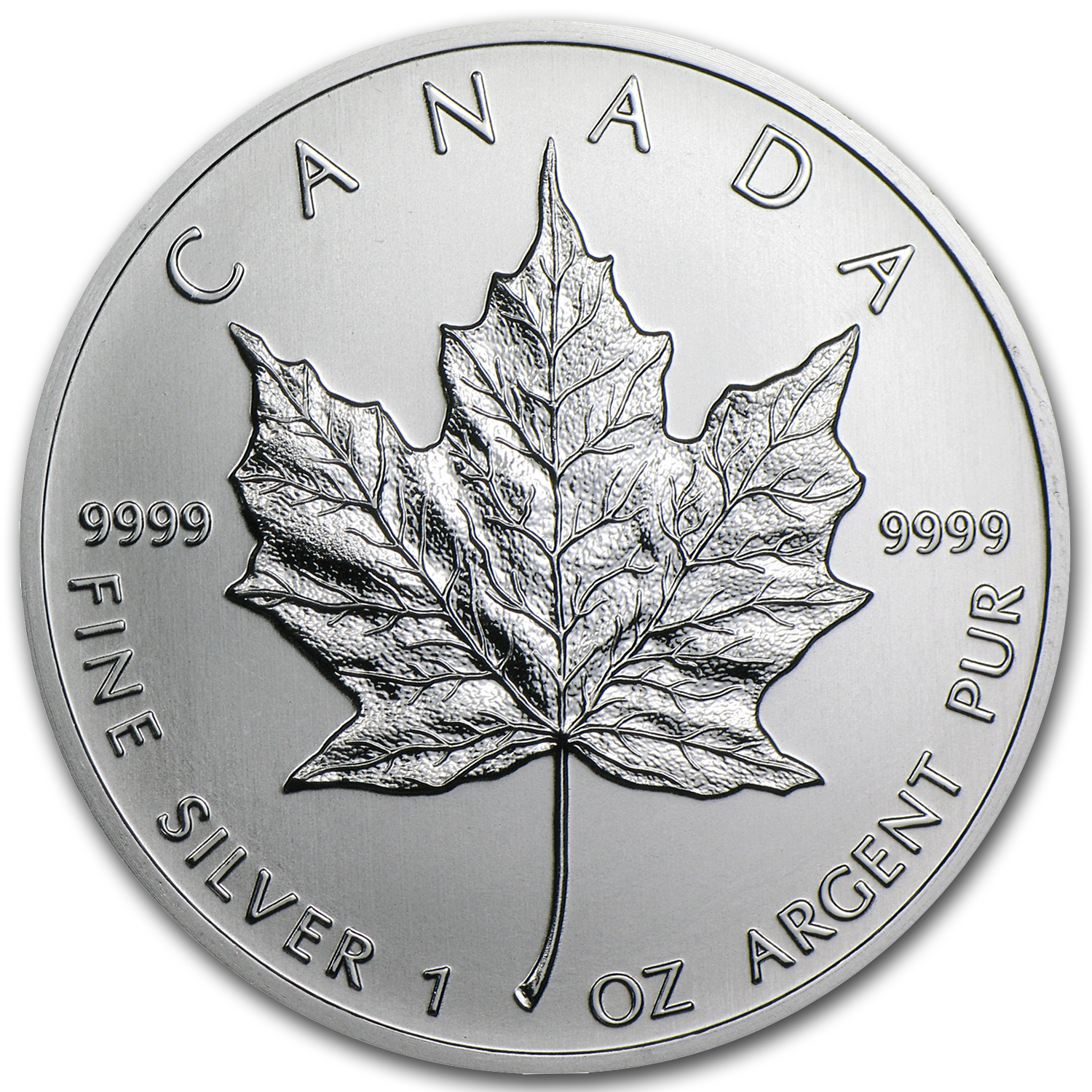 2013 1 oz Silver Canadian Maple Leaf BU