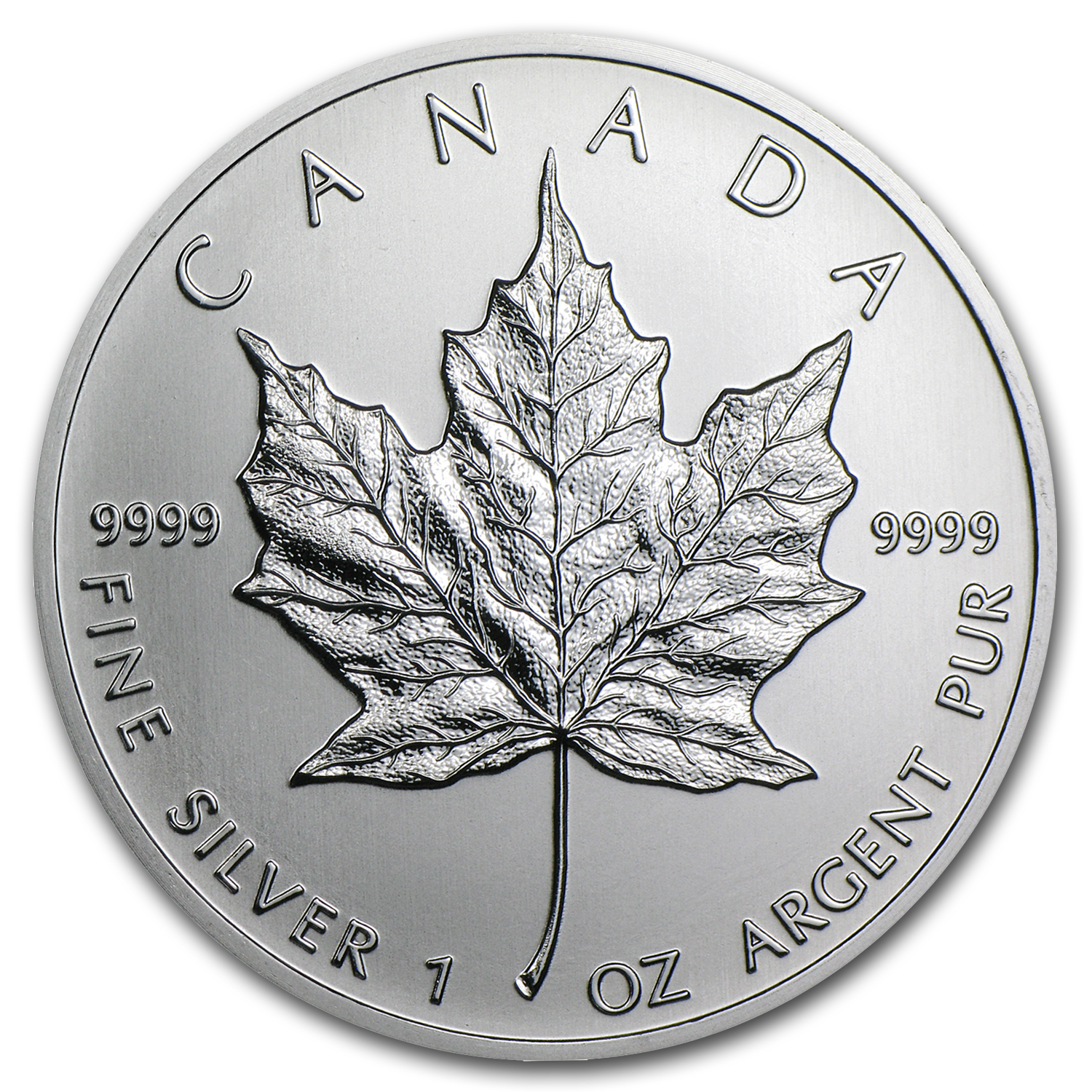 2013 Canada 1 oz Silver Maple Leaf (25-Coin MintDirect® Tube)
