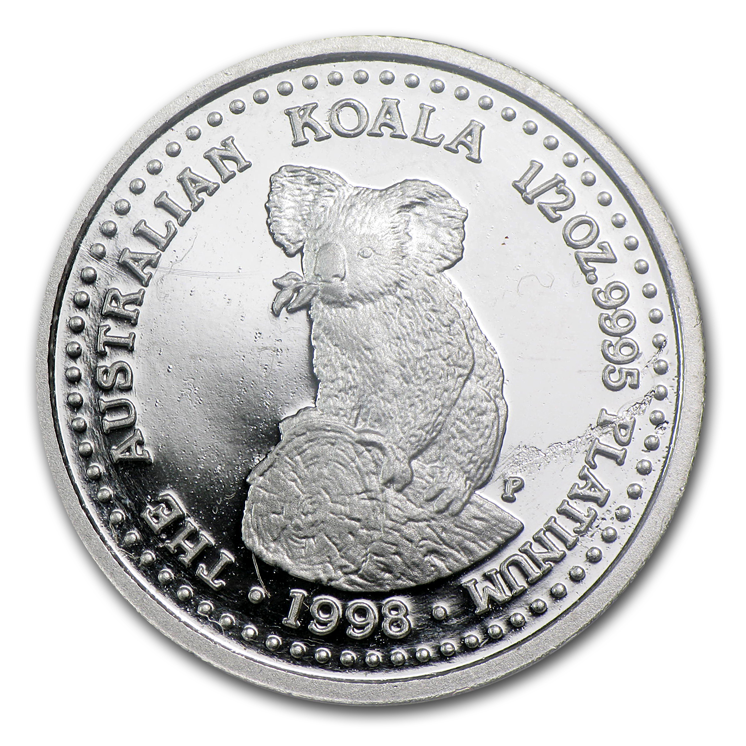 1998 1/2 oz Proof Australian Platinum Koala
