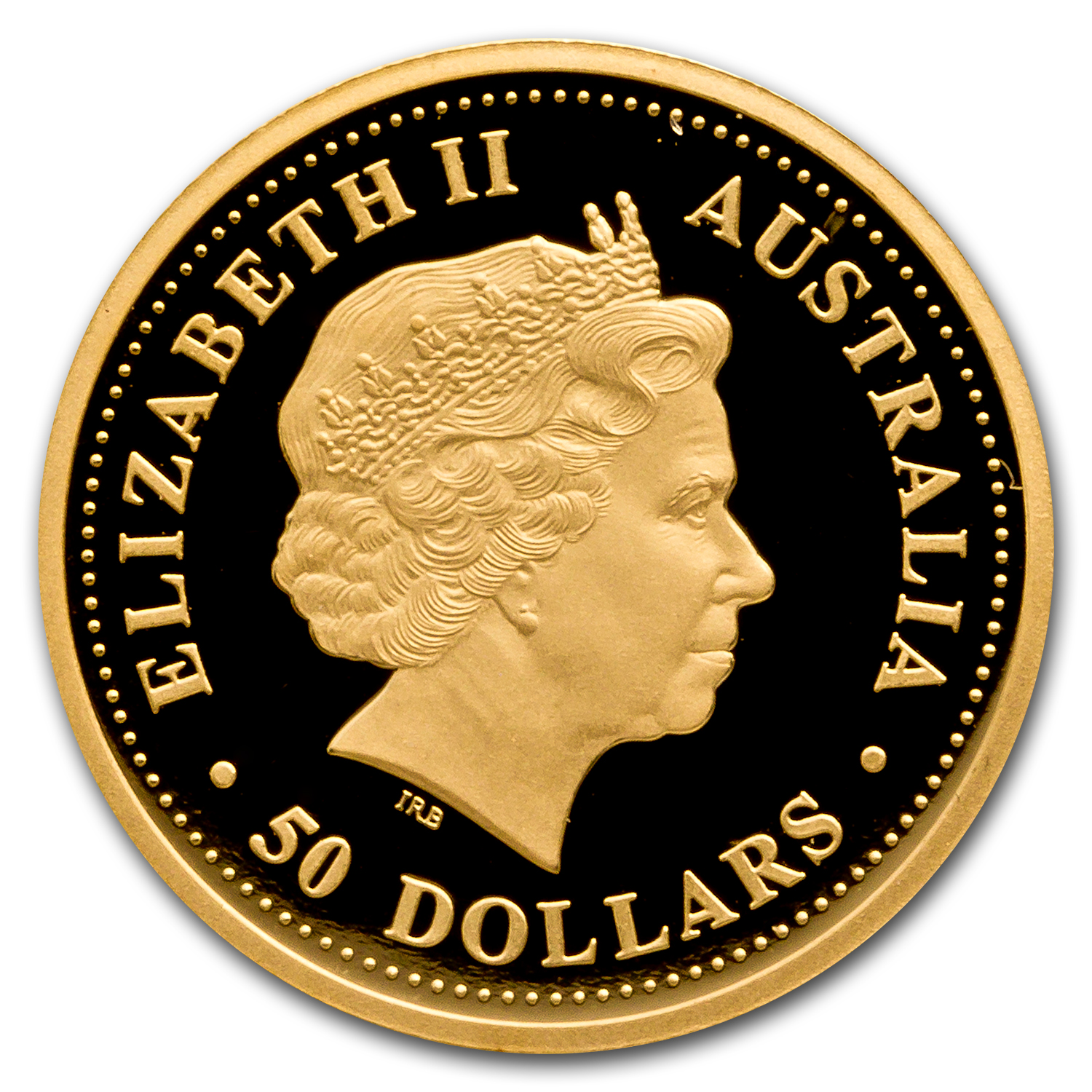 1999 Australia 1/2 oz Proof Gold Nugget
