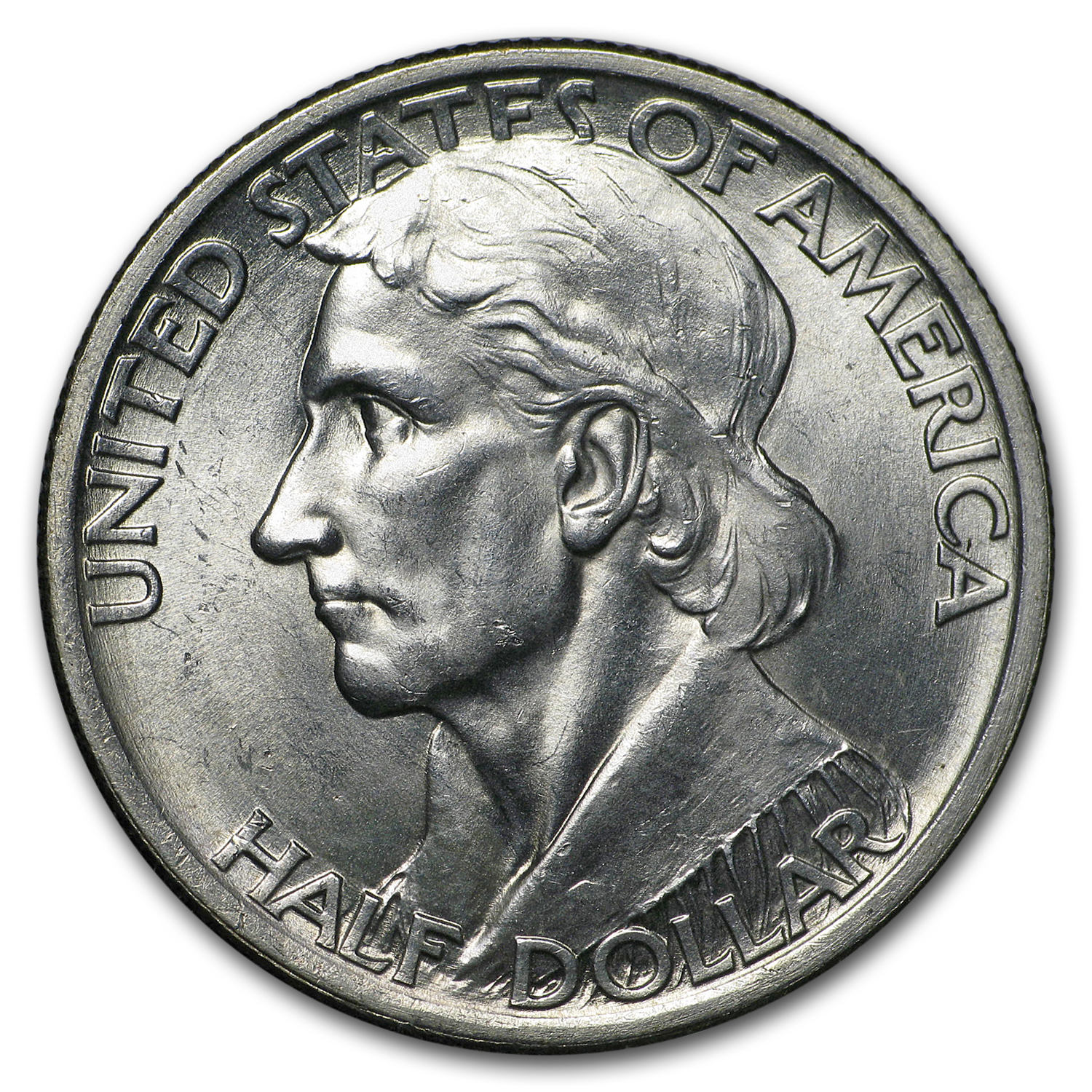 1936 Boone Commemorative Half Dollar - Brilliant Uncirculated