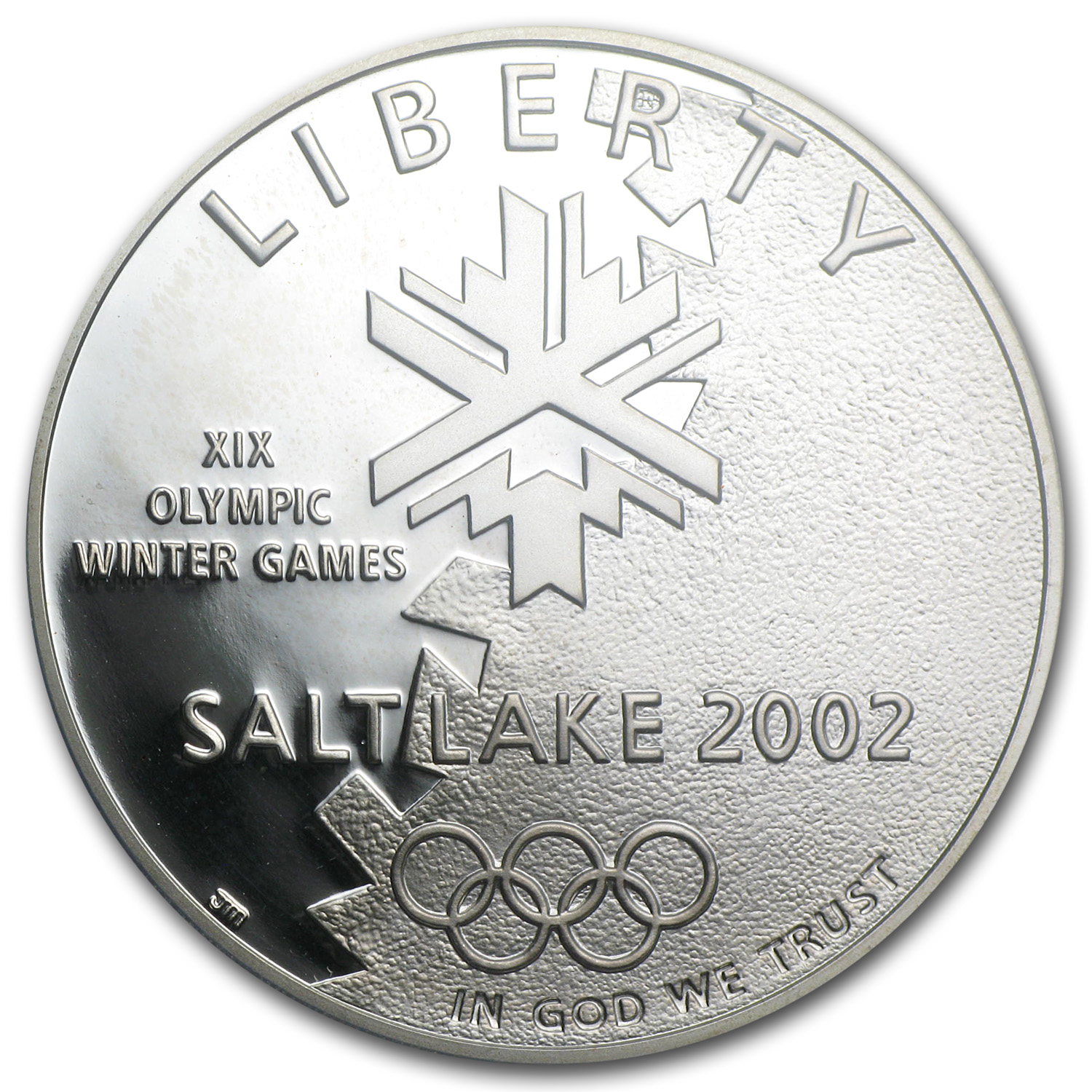 2002-P Olympic Winter Games $1 Silver Commem PR-70 PCGS
