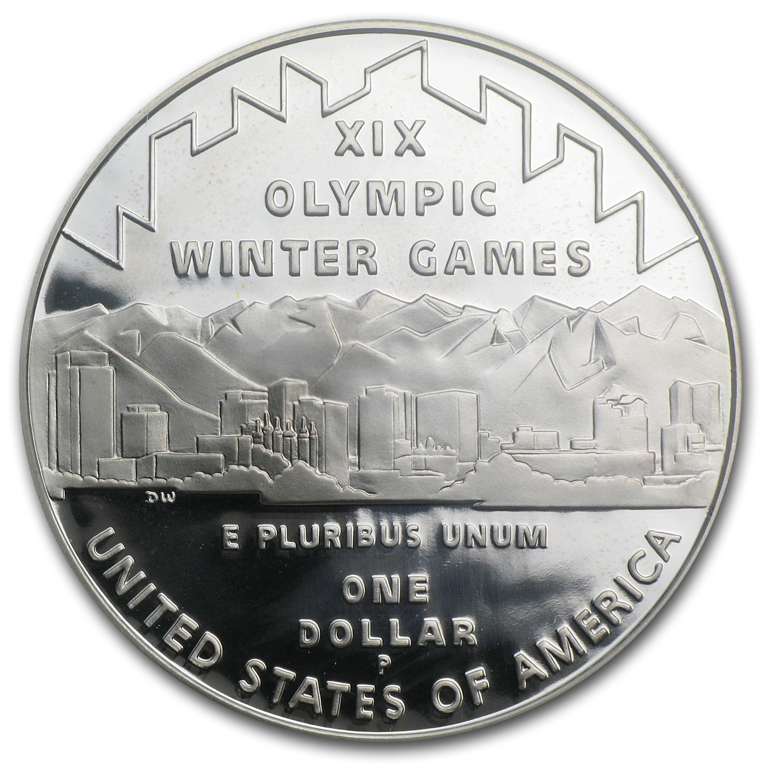 2002-P Olympic Winter Games $1 Silver Commem - PR-70 DCAM PCGS