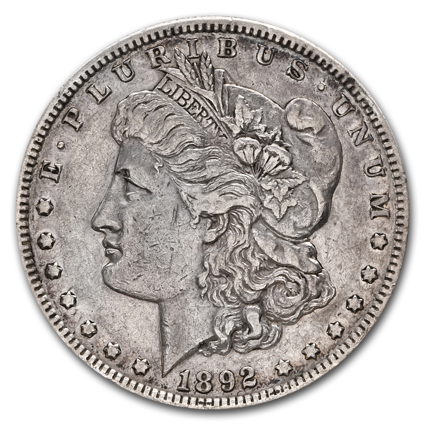 1892-S Morgan Dollar XF-45