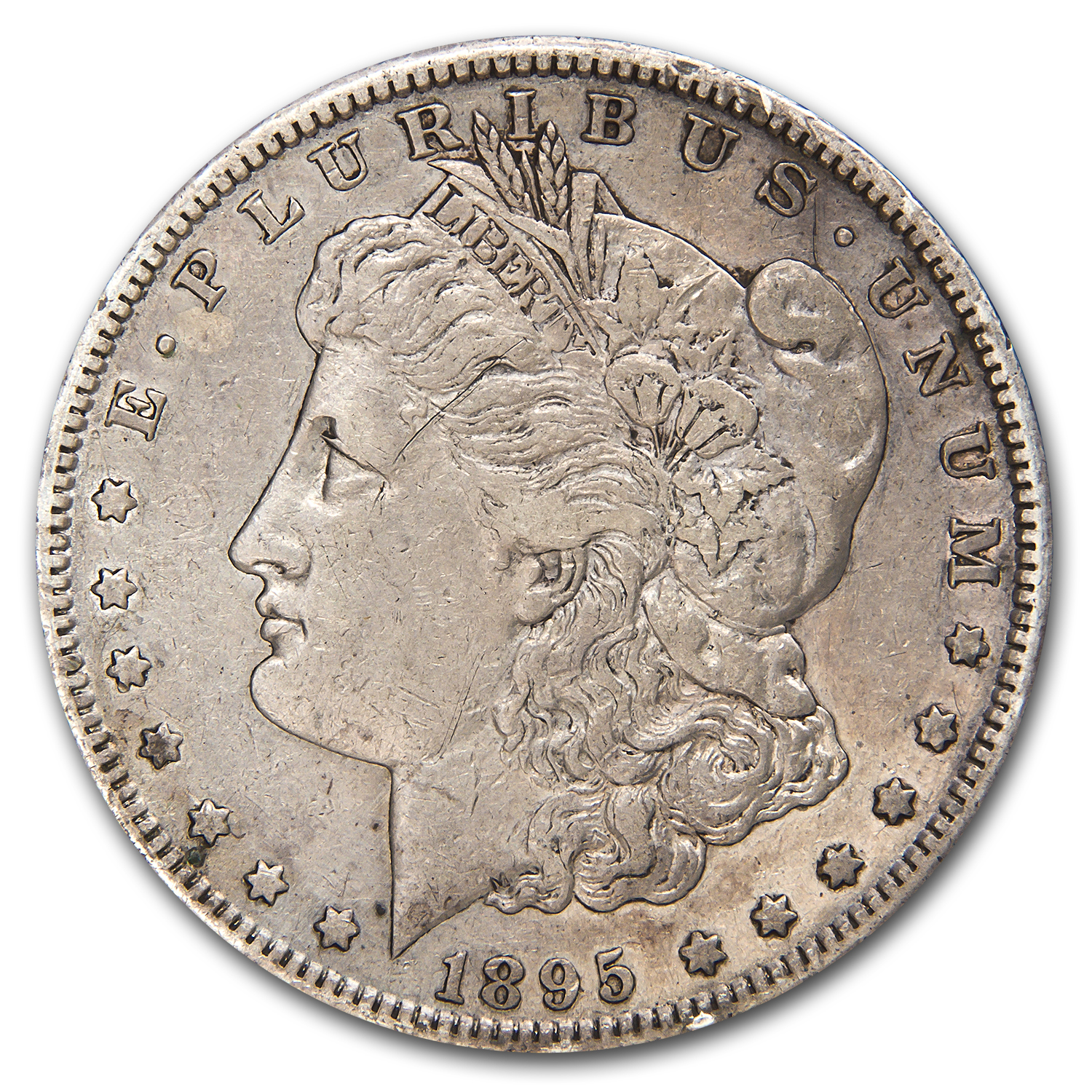 1895-S Morgan Dollar XF