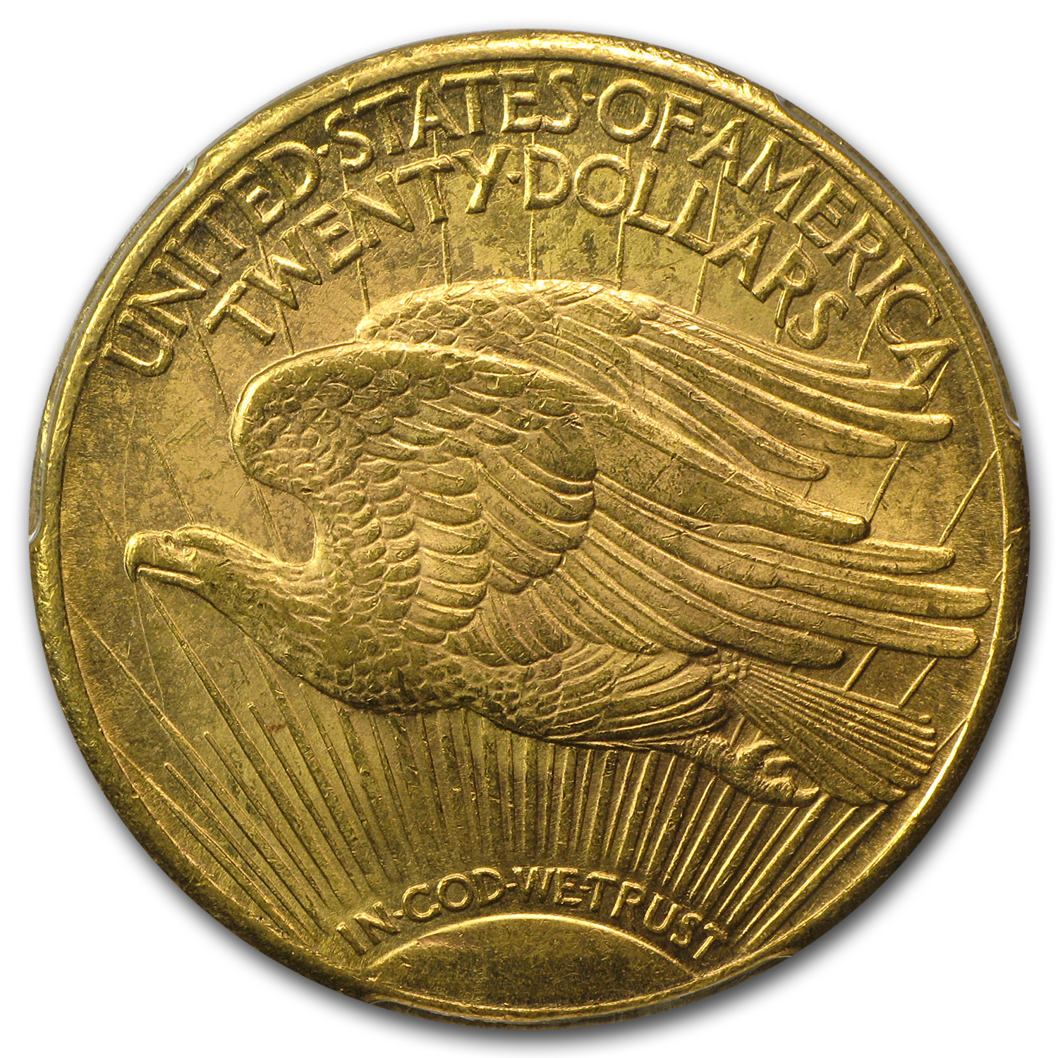 1922-S $20 St. Gaudens Gold Double Eagle - MS-62+ PCGS