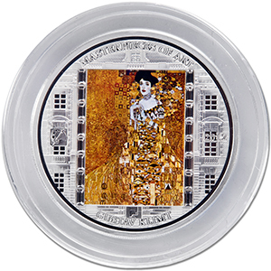 2012 Cook Islands Silver $20 Masterpieces of Art Gustav Klimt
