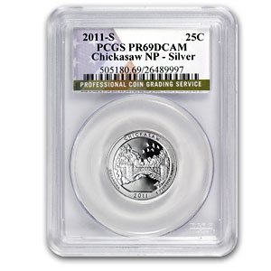 Random ATB Silver Quarters PCGS PR-69 DCAM (Years of our Choice)