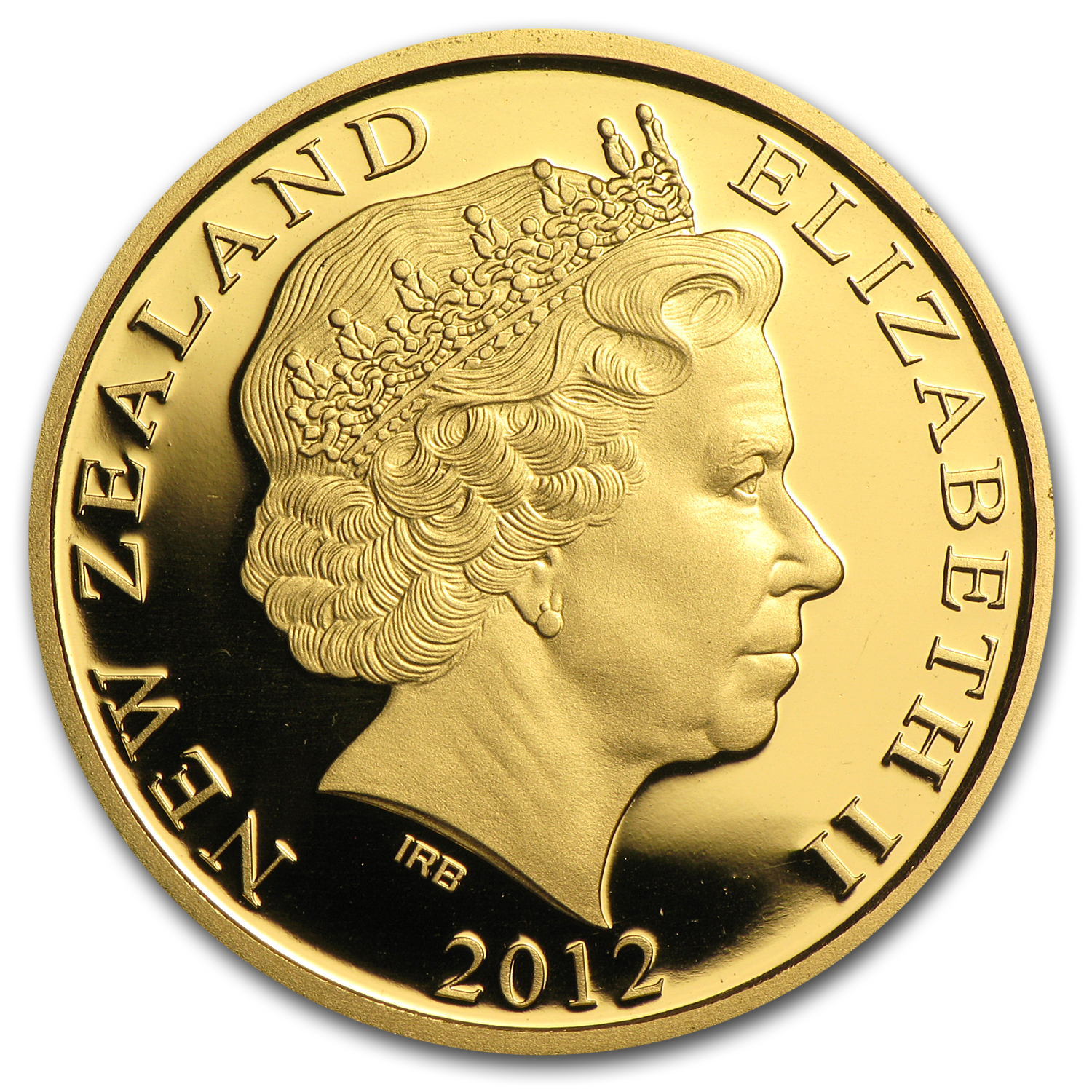 2012 New Zealand 1/4 oz Proof Gold Kowhai