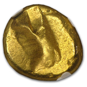 Persian Gold Daric 5th Century BC NGC ChVF