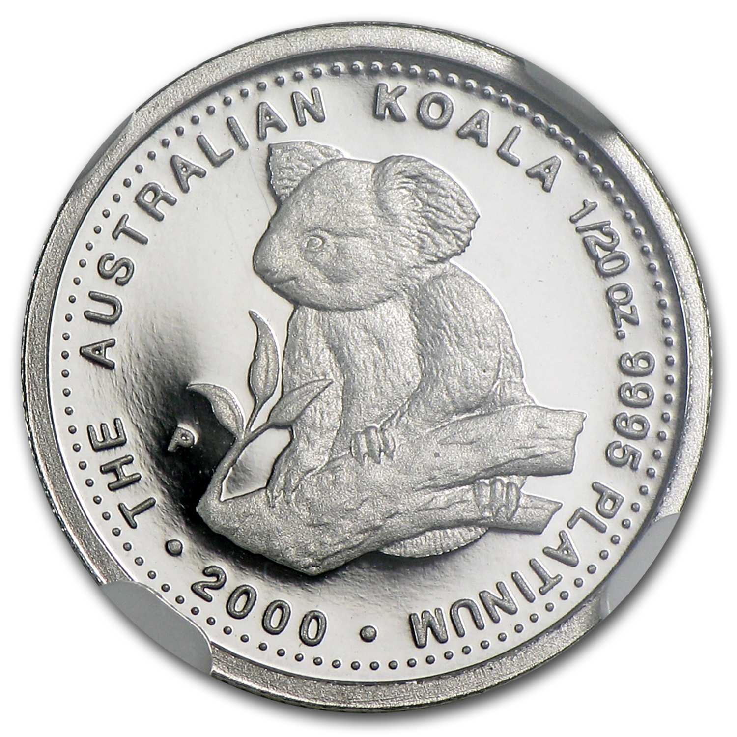 2000 Australia 1/20 oz Proof Platinum Koala PF-70 NGC