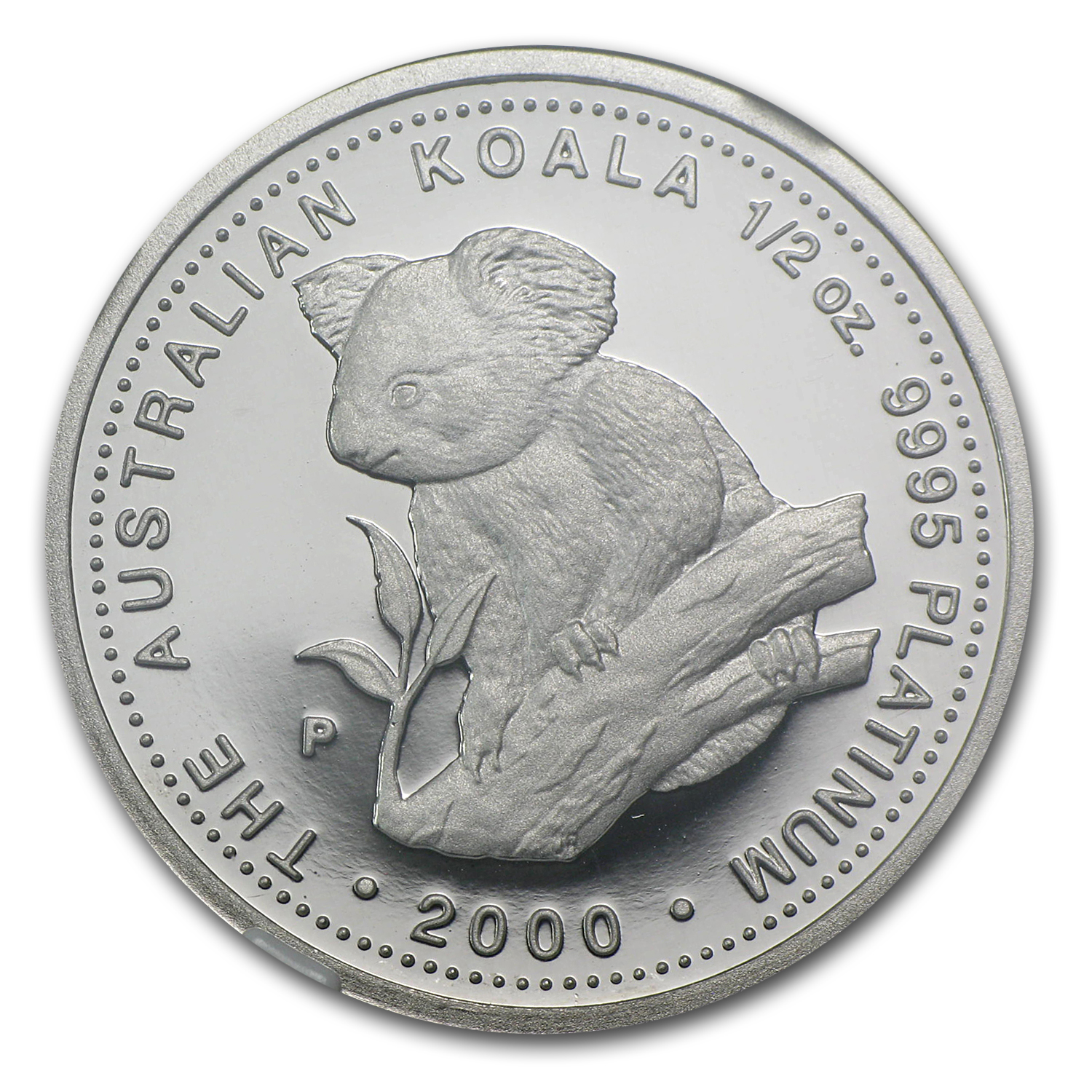 2000 Australia 1/2 oz Proof Platinum Koala PF-69 NGC