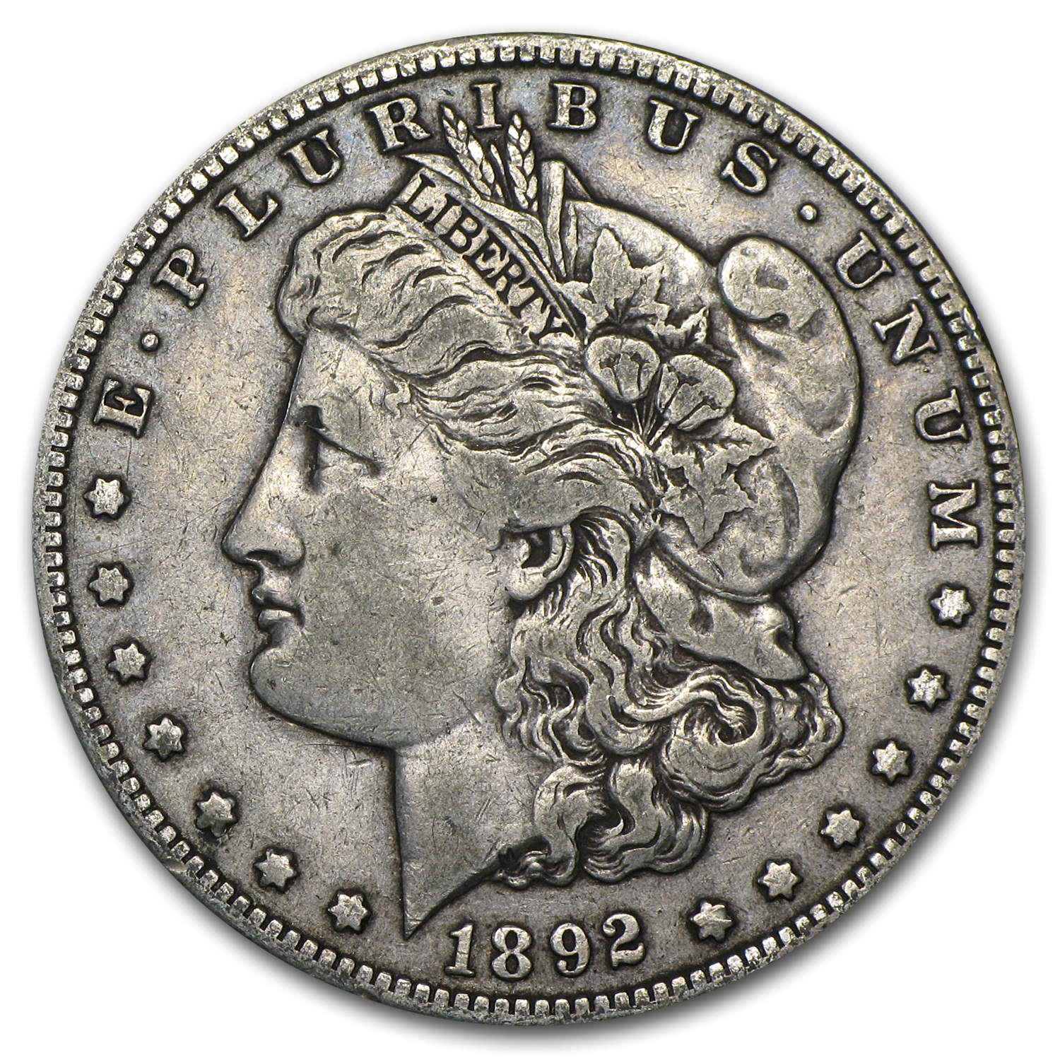 1892-S Morgan Dollar VF-35