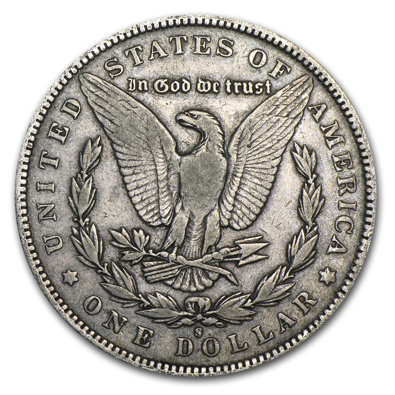 1892-S Morgan Dollar - Very Fine-35