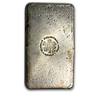 250 gram Silver Bar - Heraeus (Poured/Vintage)