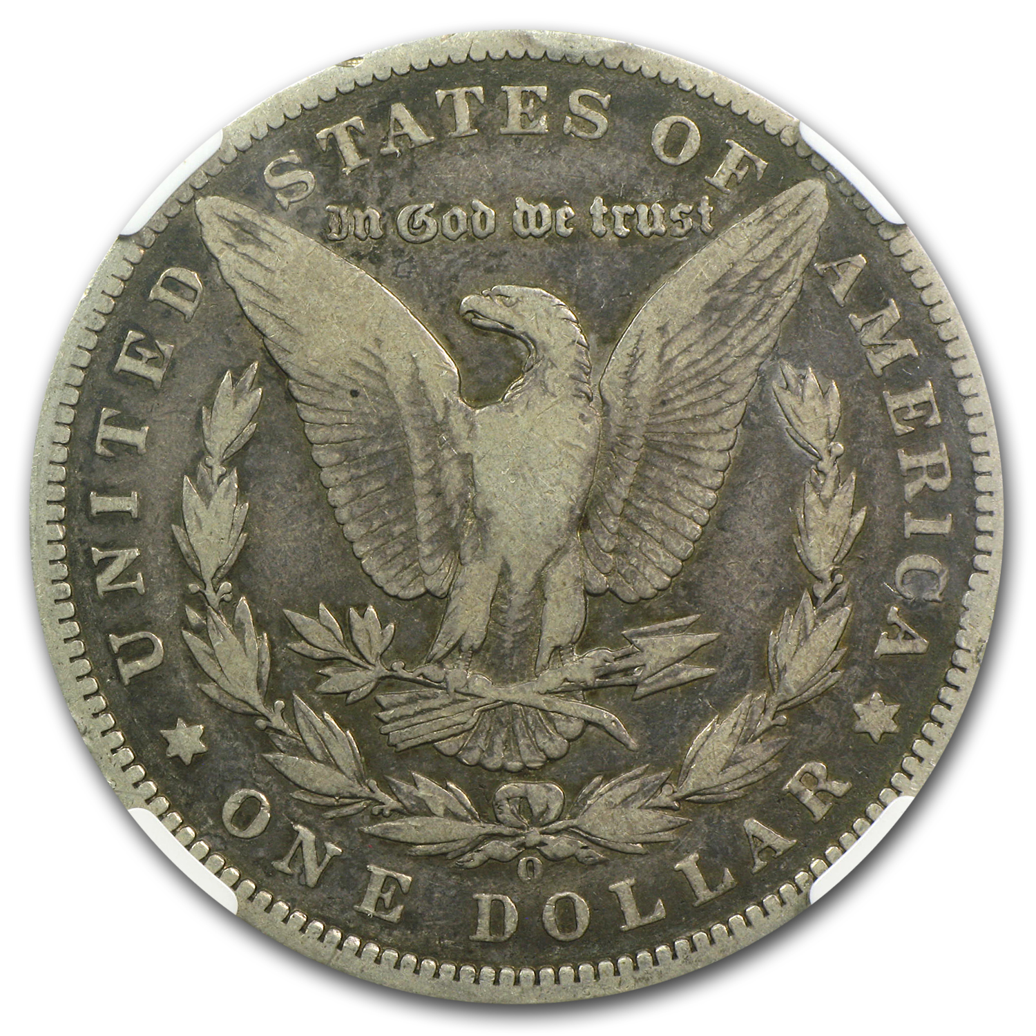 1888-O Morgan Dollar Fine-12 NGC (VAM-7A, Shooting Star)