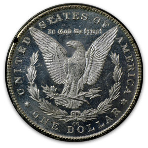 1881-CC Morgan Dollar MS-64 PL NGC (GSA)