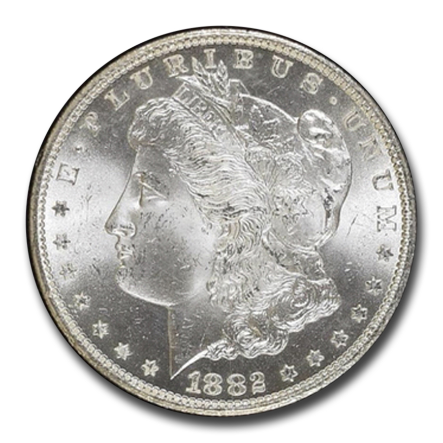 1882-CC Morgan Dollar MS-66 NGC (GSA Certified)