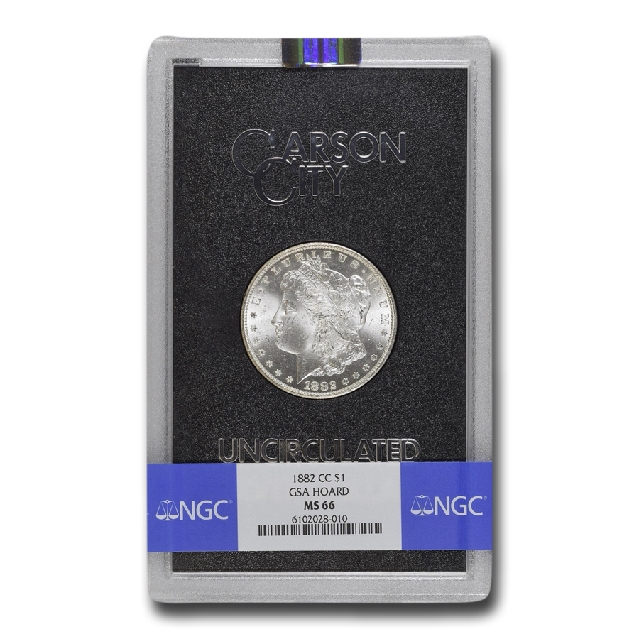 1882-CC Morgan Dollar MS-66 NGC (GSA)