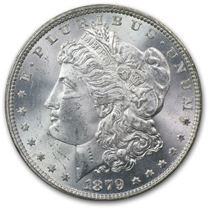 1879 Morgan Dollar MS-63 NGC (GSA)