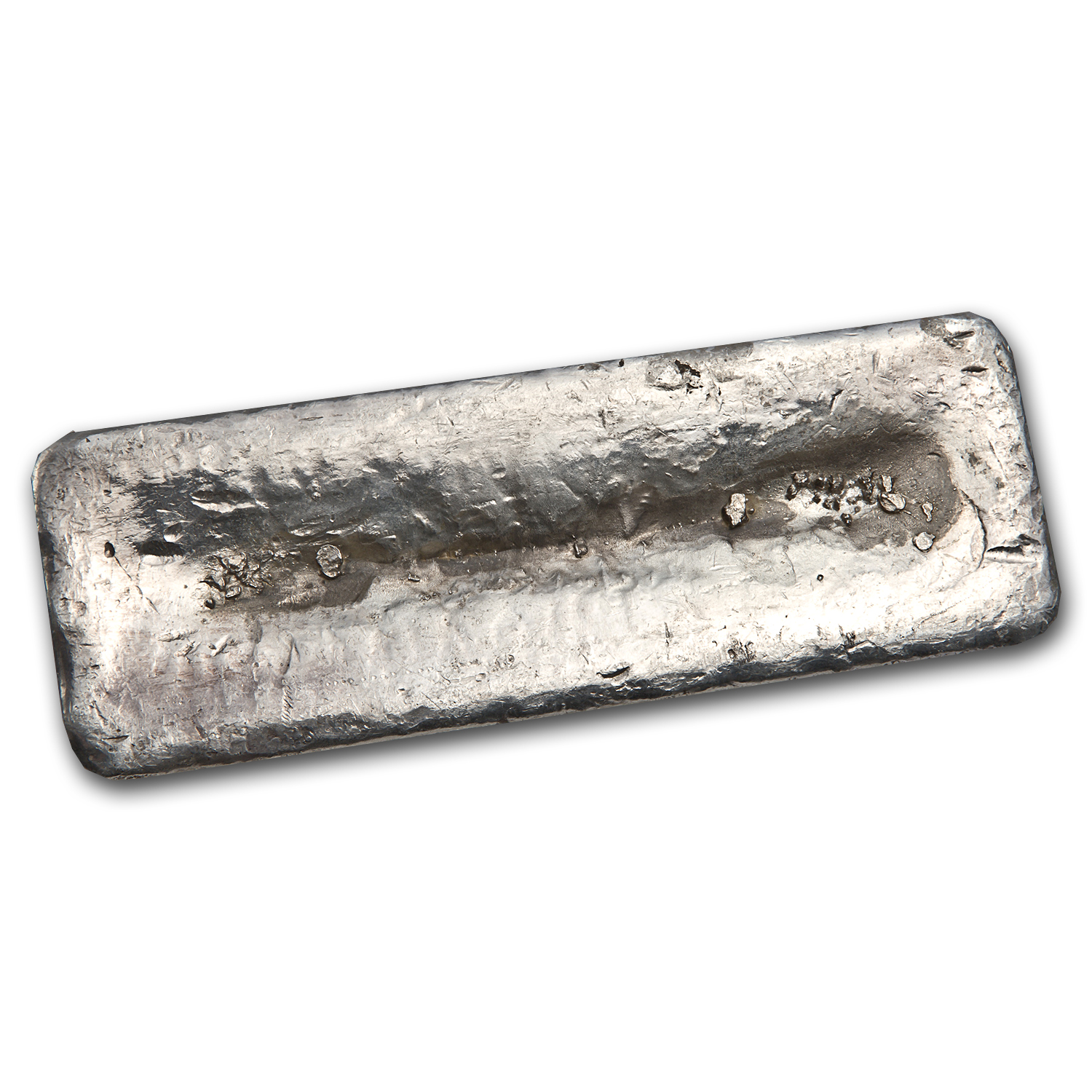 99.87 oz Silver Bar - Brown Materials