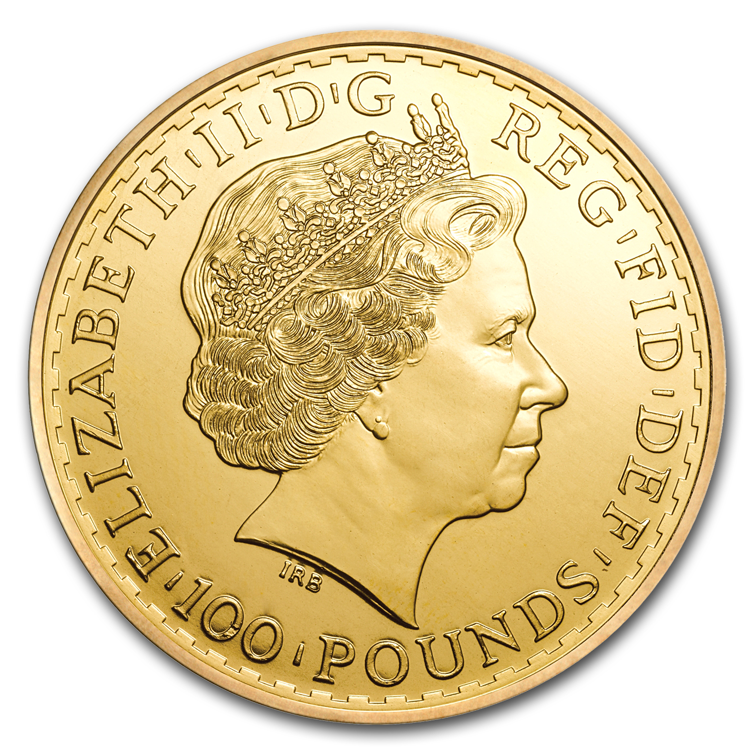 2013 1 oz Gold Britannia - Brilliant Uncirculated