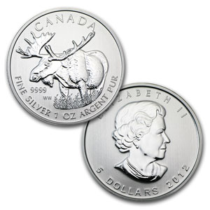 2011-2013 Canadian 1oz Silver Wildlife Series - 5 Coin Set