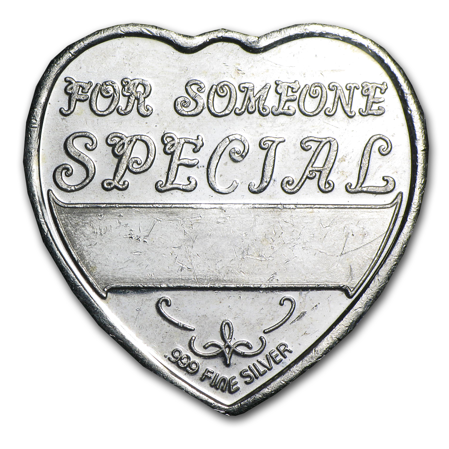 1/4 oz Silver Hearts - For Someone Special (Pegasus)