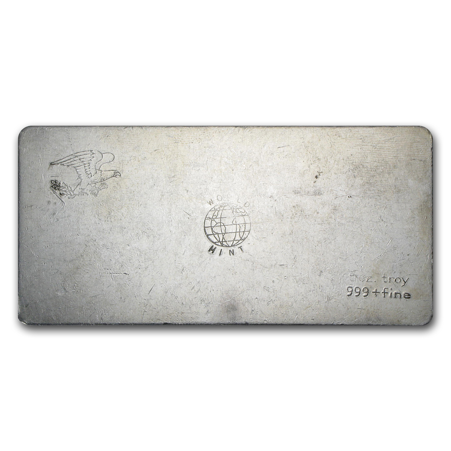 5 oz Silver Bar - World Mint Ignot
