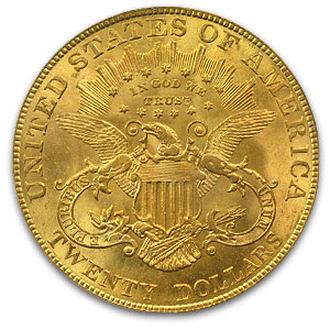 $20 Gold Liberty Double Eagle - MS-64 PCGS/NGC CAC