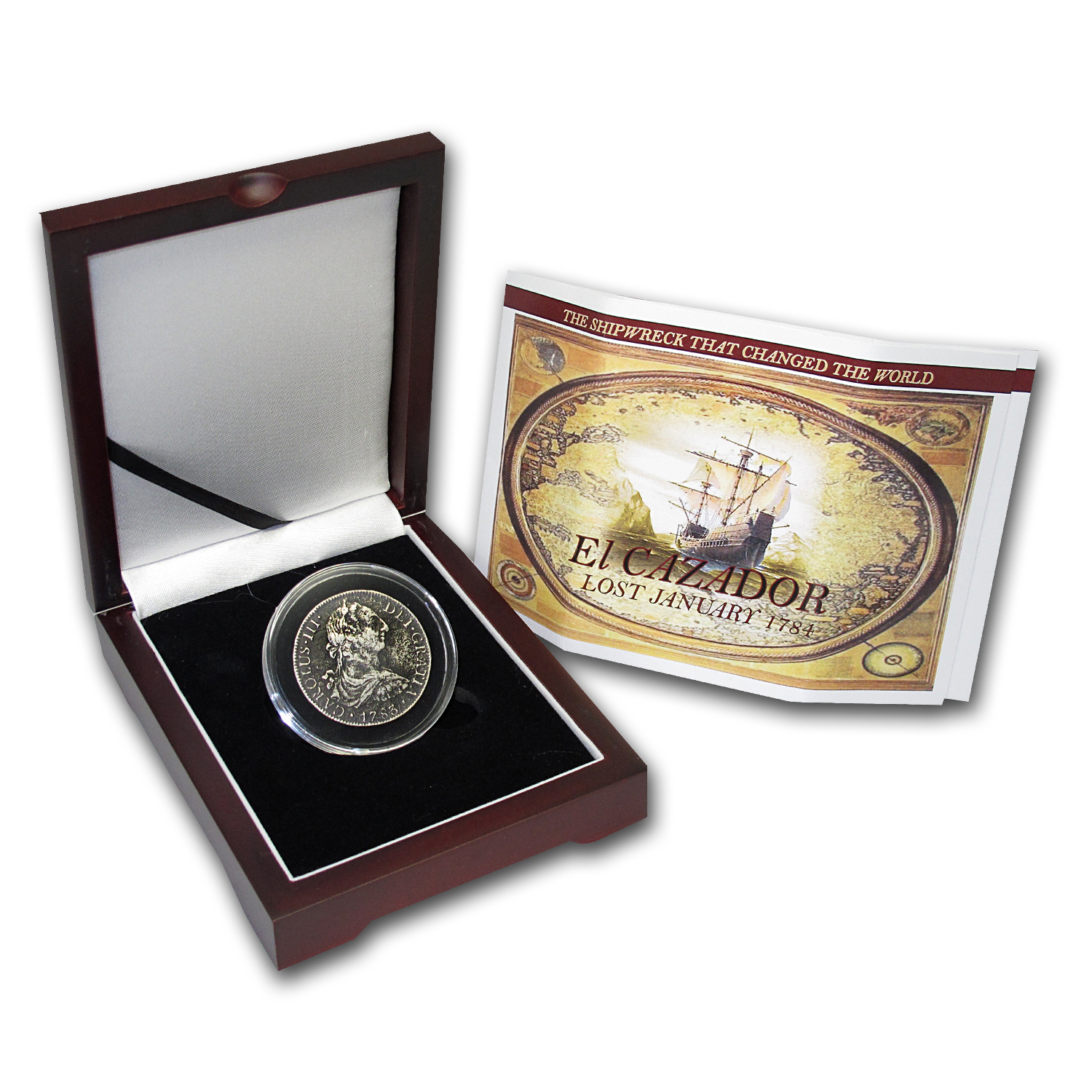El Cazador Shipwreck 8 Reales Silver Collection