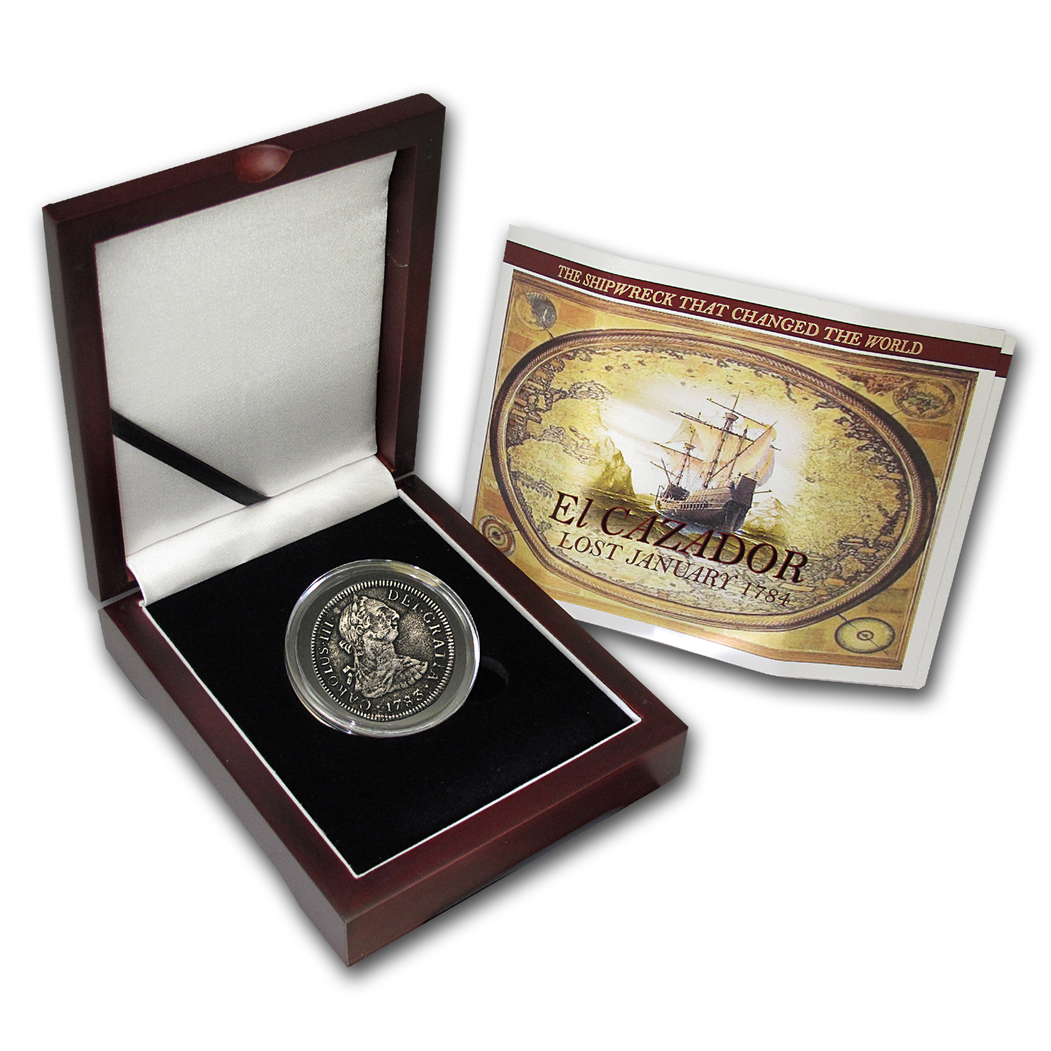 El Cazador Shipwreck 2 Reales Silver Collection