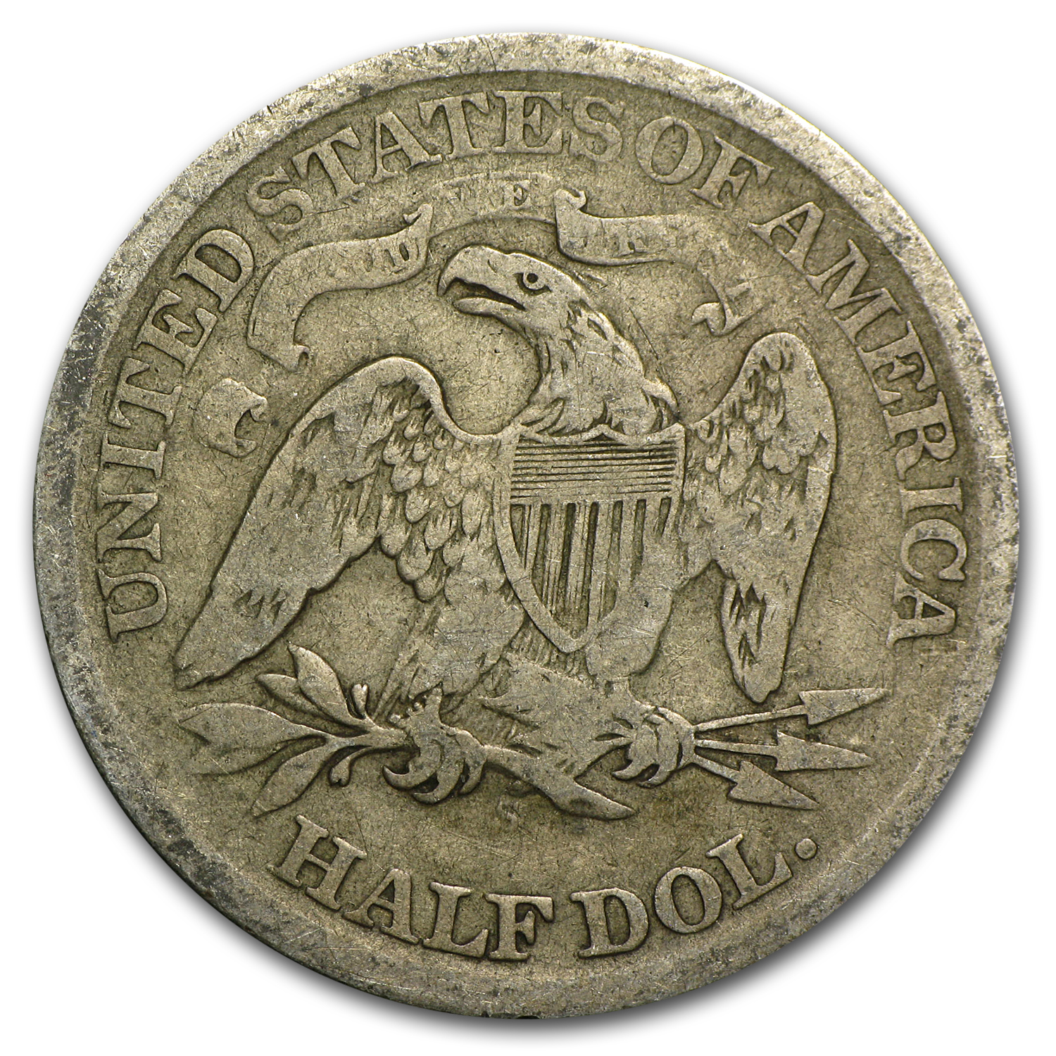 1866-S Good - Seated Liberty Half Dollar