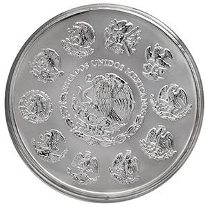 2003 Mexico 1 kilo Silver Libertad Proof Like (Box Only)