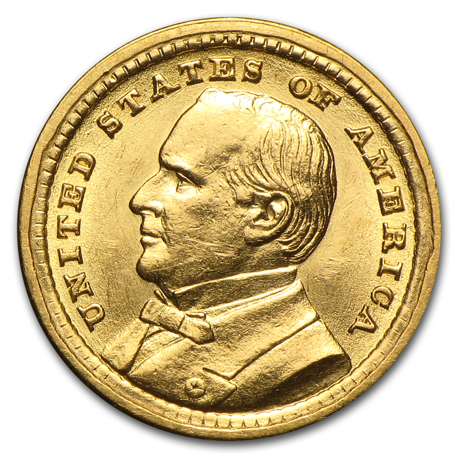 1903 $1.00 Gold Louisiana Purchase - McKinley BU