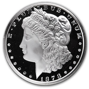 12 oz Silver Rounds - Morgan Dollar