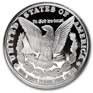 12 oz Silver Round - Morgan Dollar