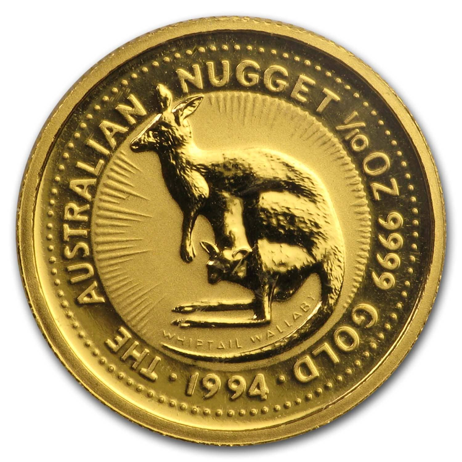 1994 1/10 oz Australian Gold Nugget