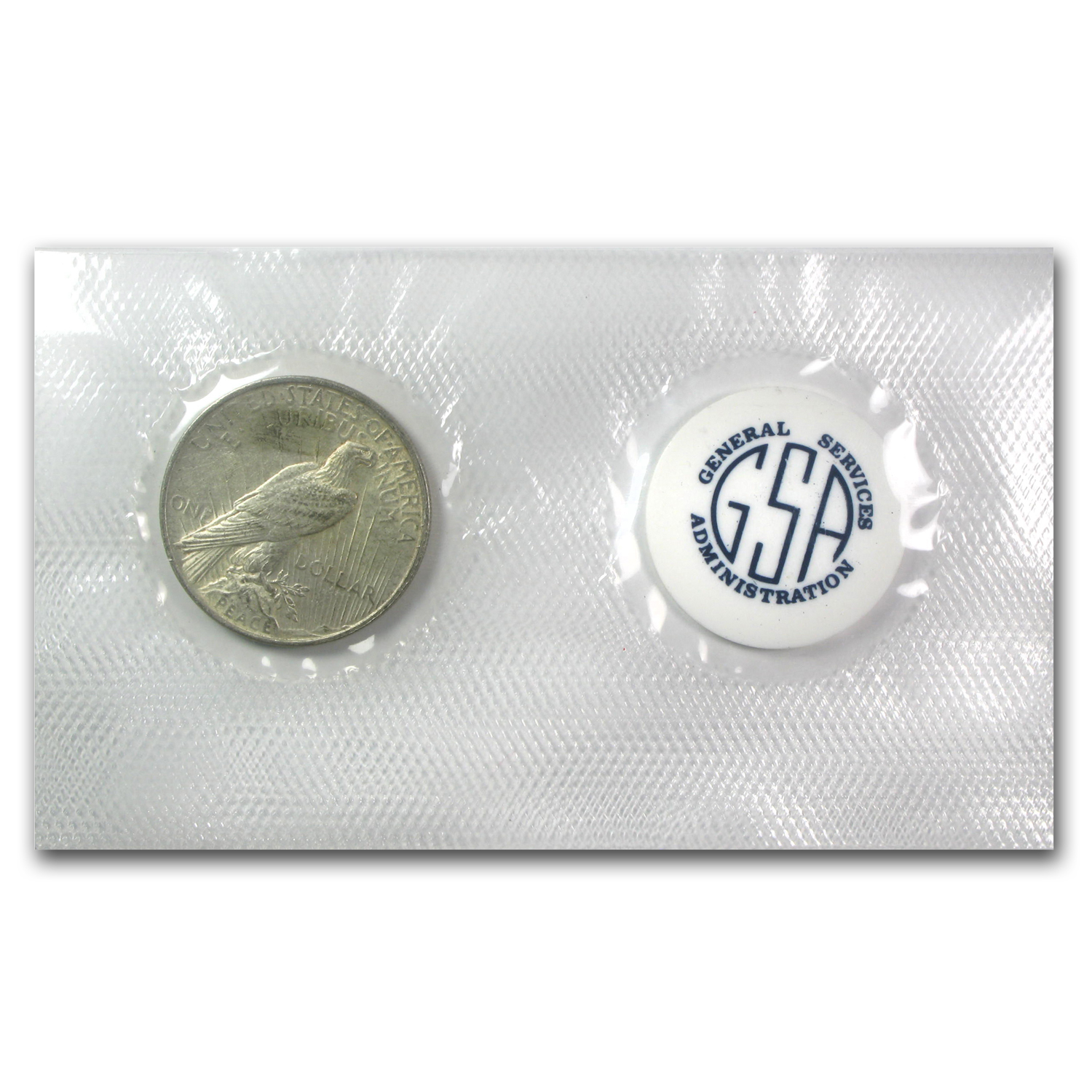 1924 Peace Dollar Peace Dollar XF (GSA Soft Pack)