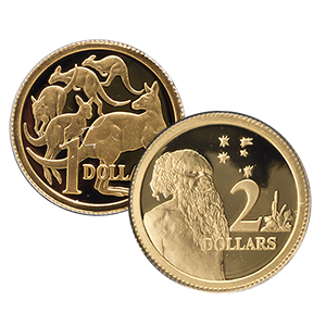 2012 8-Coin Australia Gold Proof Set