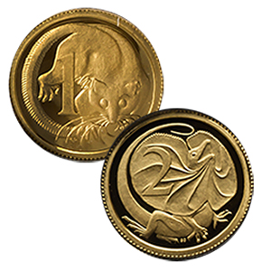 2012 8-Coin Gold Royal Australian Mint Proof Set