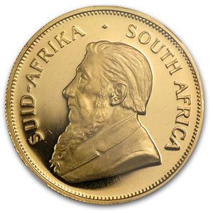 1969 South Africa 1 oz Gold Krugerrand PF-65 NGC