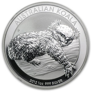 2012-P 1 oz Silver Australian Koala NGC MS-69 Early Releases