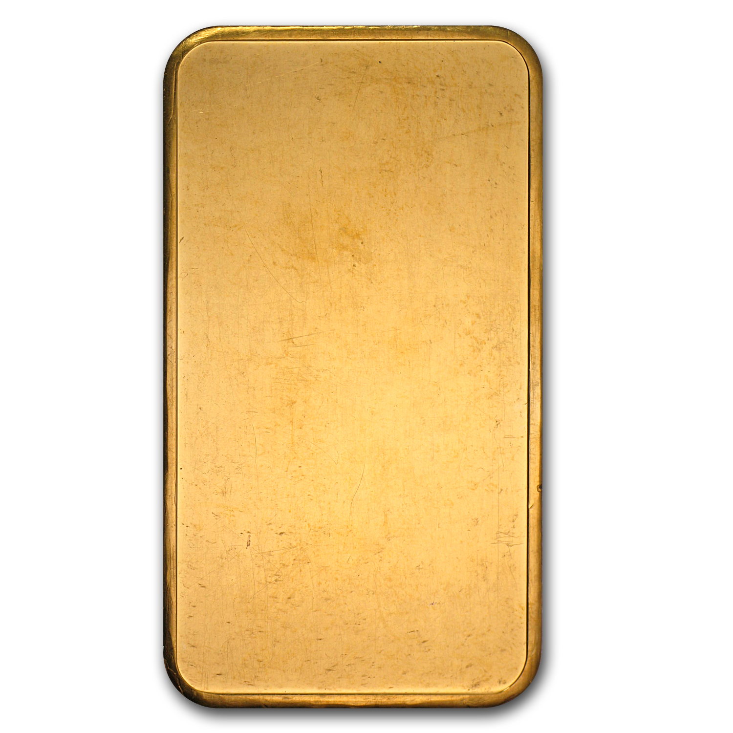 5 oz Gold Bar - Johnson Matthey (Plain Back)