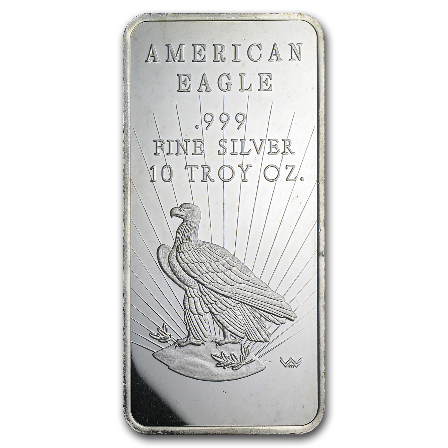 10 oz Silver Bar - World Wide Mint (Eagle)