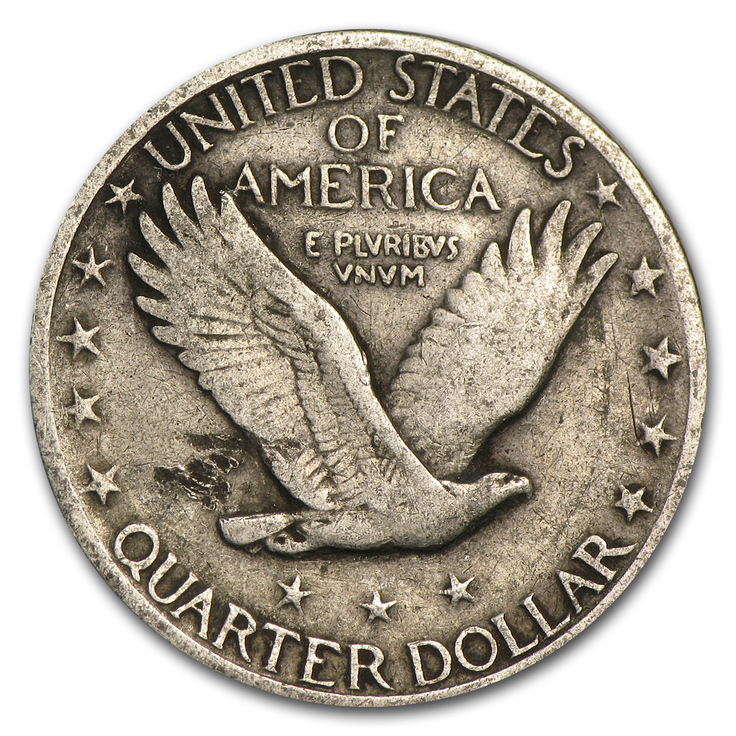1917 (Variety II) Fine - Standing Liberty Quarter