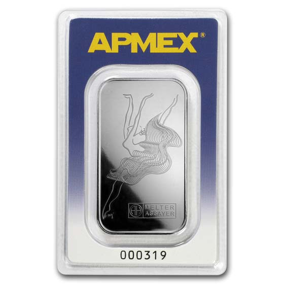 1 oz Palladium Bar - APMEX (In Assay)