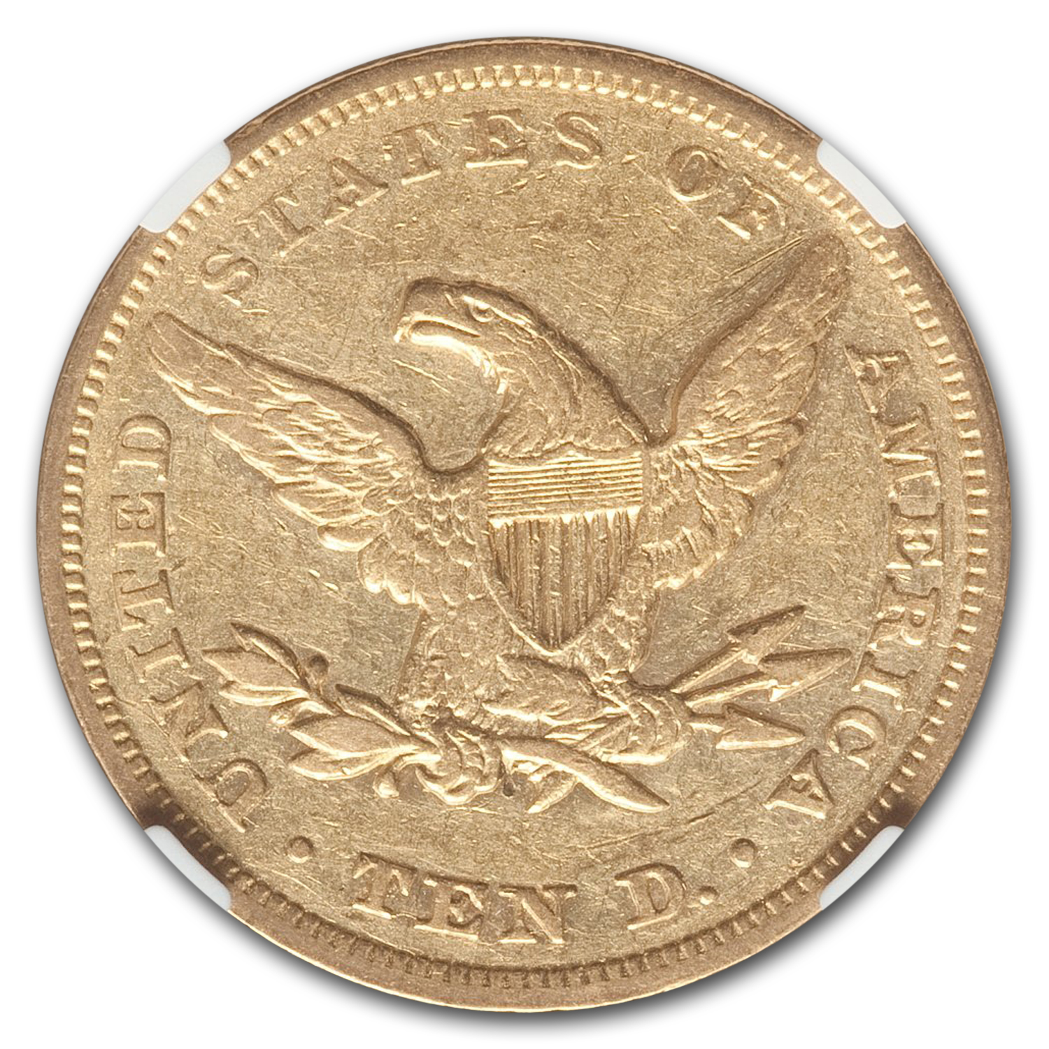 1849 $10 Liberty Gold Eagle - XF-45 NGC
