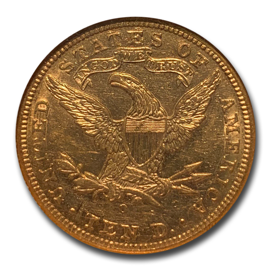 1894-O $10 Liberty Gold Eagle - AU-58 NGC