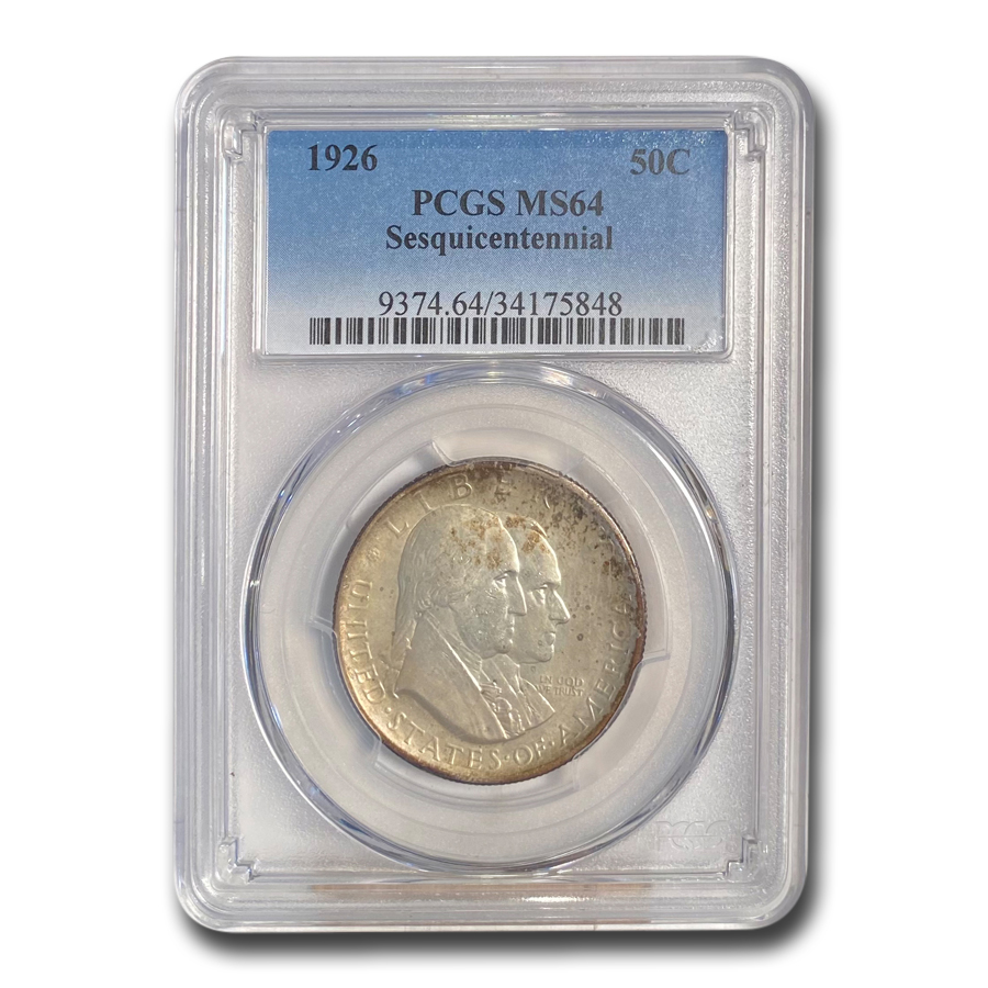 1926 (Silver) America Sesquicentennial MS-64 PCGS
